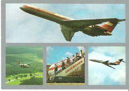 INTERFLUG - Mehrbildkarte (IL-62 / L-410 / TU-134) (Airline Issue) - 1946-....: Moderne