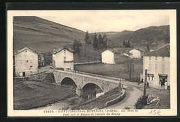CPA Saint-Cirgues-en-Montagne, Pont Sur Le Mazau Et L`entrée Du Bourg - Sin Clasificación