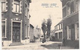 Alsemberg - De Dreef - Geanimeerd - Café Restaurant - Uitg. L. Lagaert, Brussel N° 3 - Beersel
