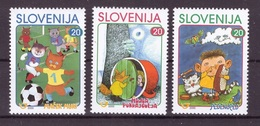 ESLOVENIA 2000 - SLOVENIE - PERSONAJES PARA NIÑOS - YVERT Nº 266-268** - Slovénie