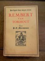 Oud Boek 1943  Door G .   MEERSSEMAN  O . P    REMBERT  VAN  TORHOUT - Torhout