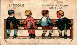 Image Chocolat Révillon à Découper L'Ecole School Série N°3 High En B.Etat - Otros