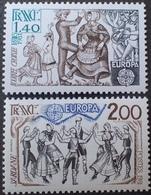 DF50500/641 - 1981 - EUROPA - N°2138 à 2139 NEUFS** - Frankrijk