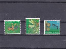 COTE D'IVOIRE - Insectes N° 508 C Et E Yvert Et Tellier - Neufs Sans Charmière, Voir Le Scan - Côte D'Ivoire (1960-...)