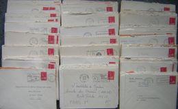 France Lot Vrac Marianne De Béquet 310 Plis, 26 Grs TP Lavé, Plus Des Fragments Pour étude - - Postzegels