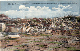 TERGNIER - Emplacement Et Décombres De La Mairie    (112875) - Sonstige Gemeinden