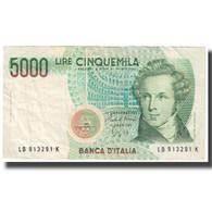 Billet, Italie, 5000 Lire, 1985, 1985-01-04, KM:111b, SUP - [ 2] 1946-… : Républic