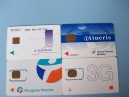 4 Cartes - Prepaid: Mobicartes