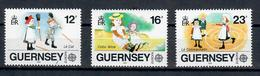 GUERSNEY 1989 - EUROPA GIOCHI INFANTILI - MNH ** - Guernesey