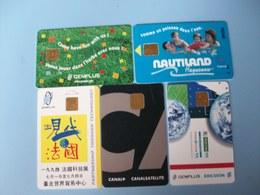 5 Cartes - Démonstration  - Ciné CANAL+ - Piscine Nautiland - Exhibition Cards