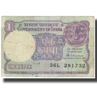 Billet, Inde, 1 Rupee, 1985, KM:78a, TTB - Inde