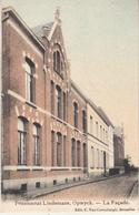 Pensionnaat Lindemans, Opwyck - De Gevel - Gekleurde Kaart - Uitg. C. Van Cortenbergh, Brussel - Opwijk