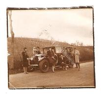 PHOTO ORIGINALE - LIMOUSINE RENAULT PEUGEOT CITROEN VIEILLE VOITURE - OLD CAR - Automobiles
