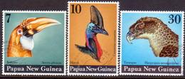 PAPUA NEW GUINEA 1974 SG #270-72 Compl.set Used Birds' Heads - Papouasie-Nouvelle-Guinée