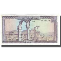 Billet, Lebanon, 10 Livres, KM:63f, SUP - Liban