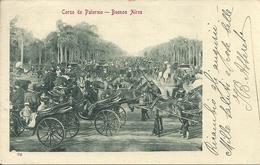 Buenos Aires (Argentina) Corso De Palermo, Carrozze E Cavalli - Argentina