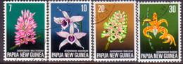 PAPUA NEW GUINEA 1974 SG #273-76 Compl.set Used Flora Conservation - Papouasie-Nouvelle-Guinée
