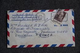 ETATS UNIS - Timbre Sur Lettre De WASHINGTON Vers FRANCE - Briefe U. Dokumente