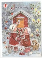 Postal Stationery Finland - CHARITY  SAVE THE CHILDREN - GIRLS - DOG - BIRDS / BULLFINCHES   - Postage Paid - Port Payé - Finland