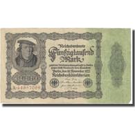 Billet, Allemagne, 50,000 Mark, 1922, 1922-11-19, KM:79, SUP - [ 3] 1918-1933 : Repubblica  Di Weimar
