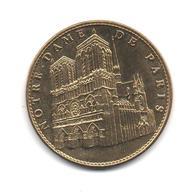 Monnaie Touristique-  2009 - Cathédrale  Notre Dame De Paris      Voir Scans - Touristiques