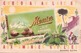 Ancien BUVARD Illustré  Chocolat MENIER - Cocoa & Chocolat