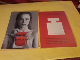Carte  Postale Narciso R/V - Cartes Parfumées