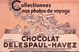 Ancien BUVARD Illustré  Chocolat DELESPAUL HAVEZ - Cocoa & Chocolat