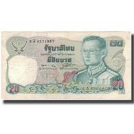 Billet, Thaïlande, 20 Baht, KM:88, TB+ - Thaïlande