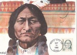 Sitting Bull - Cartoline Maximum