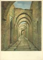Tripoli (Libia) Archi E Case Del Quartiere Arabo, Illustrazione, Illustratore Dandolo Bellini - Libia
