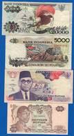 Indonesie  10  Billets - Indonésie
