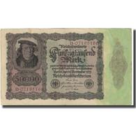 Billet, Allemagne, 50,000 Mark, 1922, 1922-11-19, KM:80, SUP - [ 3] 1918-1933 : Weimar Republic