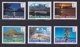 POLYNESIE N°  132 à 137 ** MNH Neufs Sans Charnière, TB (D8874) Paysages De La Polynésie -1979 - Neufs