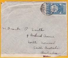 1930 ﺍﻟﺠﻤﻬﻮﺭﯾّﺔ اليمنية - YEMEN, Arabie - Enveloppe De Hodeida Vers North Norwood, Australie - Affrt SG N° 6 - Yemen