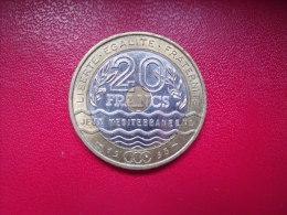 FRANCE = MONNAIE DE 20 FRANCS  DE  1993 - France