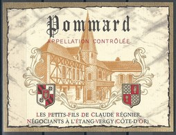 Etiquette De Vin De France * Pommard * - Etiquettes