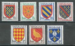 France YT N°999/1005 Armoiries De Provinces Neuf ** (Voir Description) - France