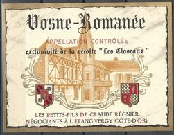 Etiquette De Vin De France * Vosne-Romanée * - Etiquettes