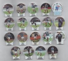 FEVE FOOT FOOTBTALL LOT DE 19 FEVES COUPE DU MONDE 98 FFF COQ - Football