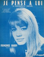 FRANCOISE HARDY - 1962 - JE PENSE A LUI - A WONDERFUL DREAM - EXCELLENT ETAT PROCHE DU NEUF - PARTITION FRANCO ANGLAIS - - Autres