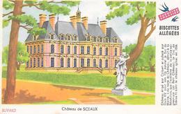 Biscottes GREGOIRE  -  Château De Sceaux  ( Format = 15cm X 9,5cm ) - Zwieback