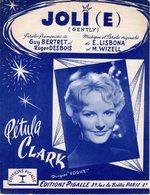 PETULA CLARK - 1959 - JOLI (E) - GENTLY -  EXCELLENT ETAT - - Otros