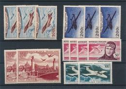 CP-281: FRANCE: Lot PA** N°28(2)-30(3)-34(4)-35(2) - 1927-1959 Neufs