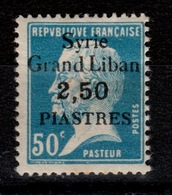 Syrie - YV 104 N* , Legere Rousseur Sur Quelques Dents Au Verso Cote 3,50 Euros - Syrie (1919-1945)