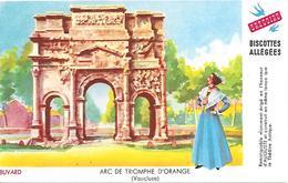 Biscottes GREGOIRE  -  Arc De Triomphe D'Orange  ( Format = 15cm X 9,5cm ) - Zwieback