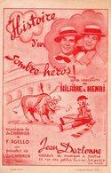 HILAIRE ET HENRI - 1945 - HISTOIRE D'UN SOMBRE HEROS - TEXTE PEPITO TORERO A MADRID - ARENE TAUROMACHIE - EXCELLENT ETAT - Autres