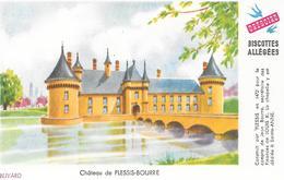 Biscottes GREGOIRE  -  Château De Plessis Bourré  ( Format = 15cm X 9,5cm ) - Zwieback