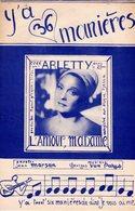 ARLETTY - Y'A 36 MANIERES - DE MARSAN ET VAN PARYS - 1952 - EXCELLENT ETAT PROCHE DU NEUF- - Autres