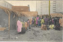 8VL-883: Exposition De Liège 1905 Village Sénégalais  Cuisine - Expositions